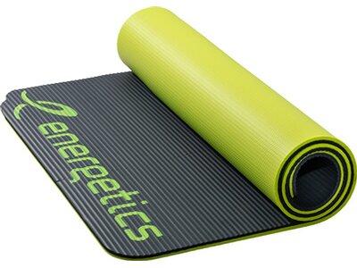 "ENERGETICS Fitnessmatte / Sportmatte ""NBR 185"" Grau"