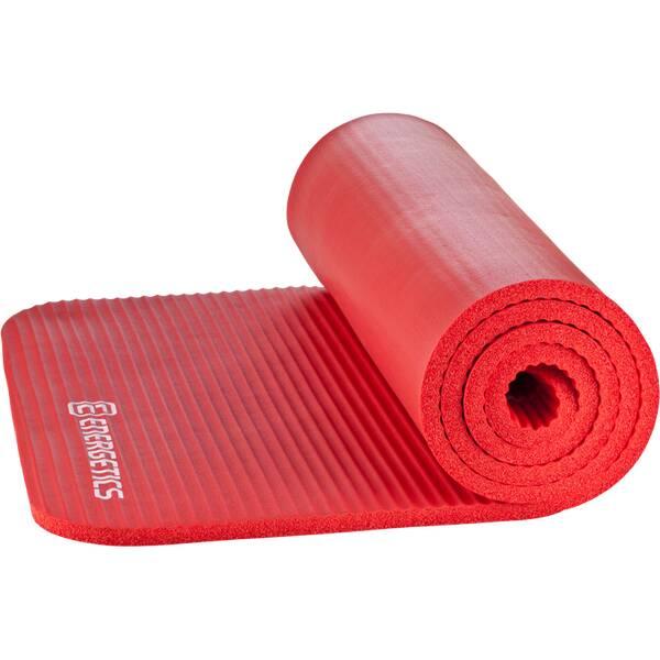 ENERGETICS Fitnessmatte / Gymnastikmatte NBR Professional Rot
