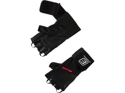 ENERGETICS Herren Handschuhe Wrist Wrap Schwarz