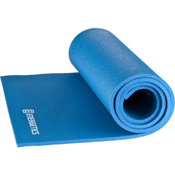 ENERGETICS Gymnastikmatte / Fitnessmatte Body Fit XL Blau