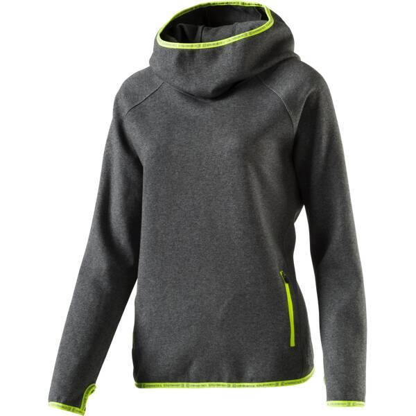 ENERGETICS Damen Kapuzensweater Fantas | Sportbekleidung > Sportwesten > Steppwesten | Dunkelgrau | Baumwolle - Fleece | ENERGETICS