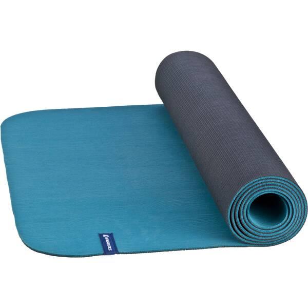 ENERGETICS Yogamatte Natural Rubber Blau