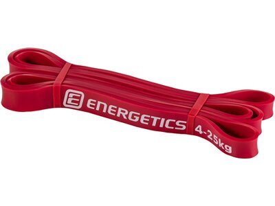 ENERGETICS Fitnessband Latex Rot