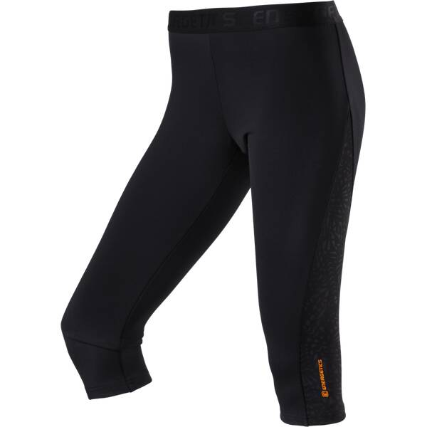 ENERGETICS Damen Tight Apedi II Schwarz