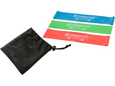 ENERGETICS Mini-Fitnessbänder-Set Bunt