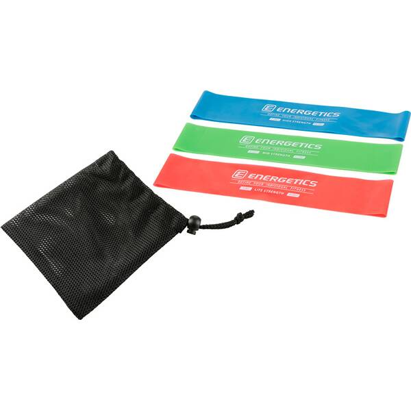 ENERGETICS Mini-Fitnessbänder-Set