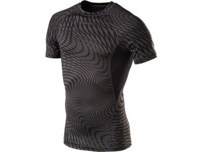 ENERGETICS Herren Shirt H-T-Shirt Leonidas Schwarz