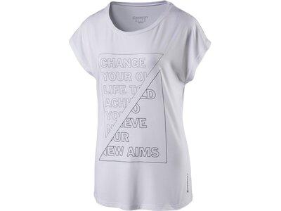 ENERGETICS Damen T-Shirt Gabus Weiß