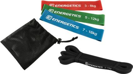 ENERGETICS Mini-Fitnessbänder-Set