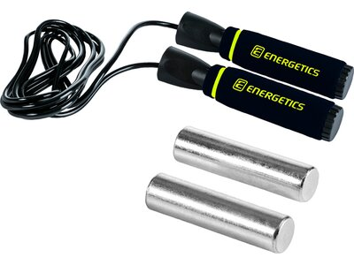 ENERGETICS Springseil Speed Rope 1.0 Schwarz
