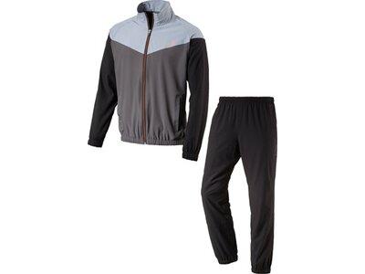 ENERGETICS Herren Trainingsanzug Finley + Flo Kurzgröße Grau