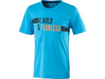 ENERGETICS Kinder Shirt Kn-T-Shirt Drew Blau