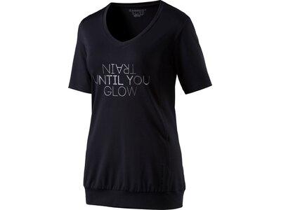 ENERGETICS Damen T-Shirt Gapela Schwarz