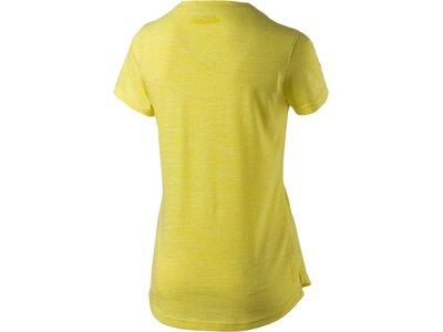 ENERGETICS Damen Shirt D-T-Shirt Carly Gelb