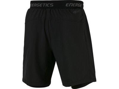 ENERGETICS Herren Shorts 2-in-1 Friedo Schwarz