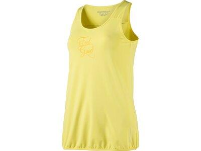 ENERGETICS Damen Tank-Shirt Galkus 4 Gelb