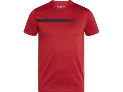 ENERGETICS Herren T-Shirt Pilo Rot