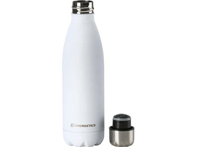 ENERGETICS Trinkflasche Metal Bottle 0.5L Weiß