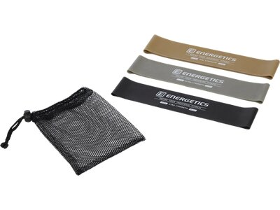 ENERGETICS Gymnastik Band Mini Set Pro Schwarz
