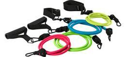 Vorschau: ENERGETICS Trainings-Set Fitness Tubes