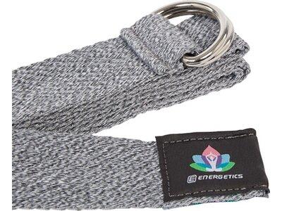 ENERGETICS Gymnastik Yoga Cotton Strap Grau