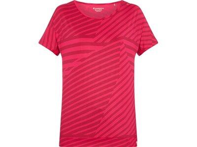ENERGETICS Damen T-Shirt Jade Rot