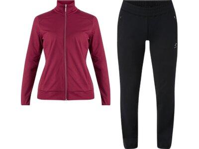 ENERGETICS Damen Trainings-Anzug Janice und Joelle Rot