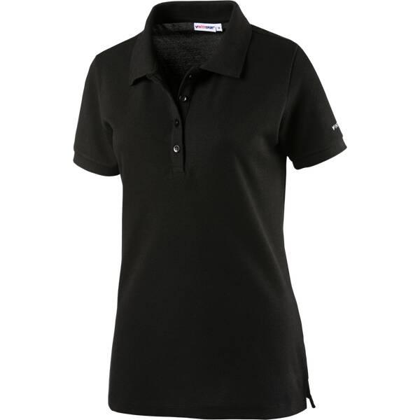 ENERGETICS Damen Polo Damen Poloshirt MA Polo Schwarz