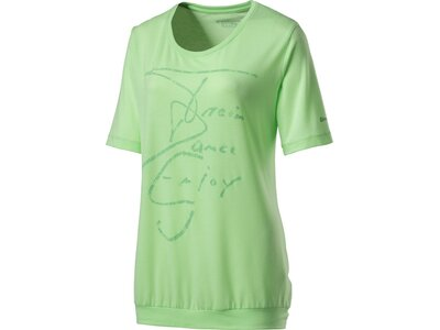 ENERGETICS Damen T-ShirtCara Grün