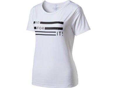 ENERGETICS Damen Shirt D-T-Shirt Cassandra Weiß