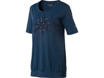 ENERGETICS Damen T-Shirt Filipa Blau