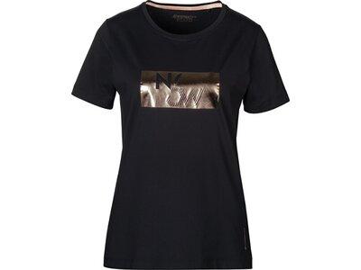 ENERGETICS Damen T-Shirt Henja Schwarz