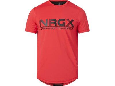 ENERGETICS Herren T-Shirt Malou IV Rot