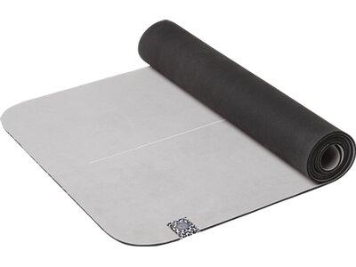 ENERGETICS Yoga-Matte Natural Rubber Microfiber Saf Grau