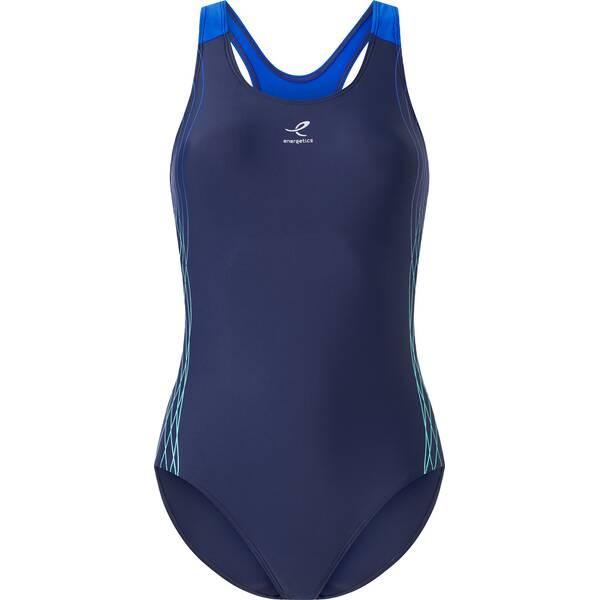 Bademode - ENERGETICS Damen Schwimmanzug Rubina II › Blau  - Onlineshop Intersport