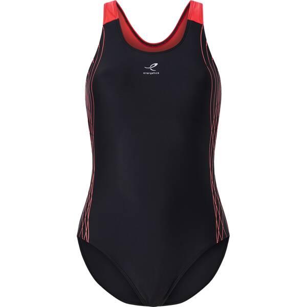 Bademode - ENERGETICS Damen Schwimmanzug Rubina II › Schwarz  - Onlineshop Intersport