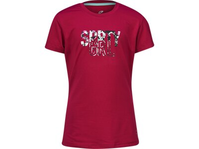 ENERGETICS Kinder T-Shirt Geisha Rot
