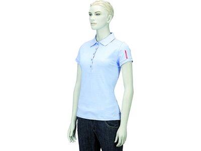 INTERSPORT Damen Polo Damen Poloshirt corporate collection Blau