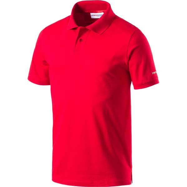 INTERSPORT Herren Polo Herren Poloshirt corporate collection Rot