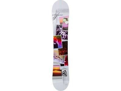 FIREFLY Snowboard Spheric Weiß