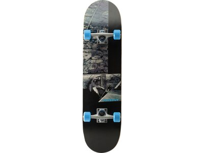 FIREFLY Skateboard Half Pipe Grau