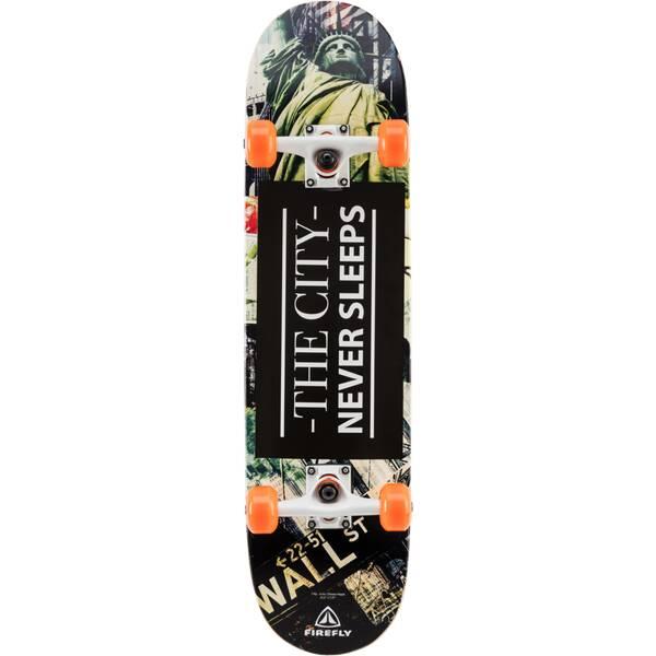 FIREFLY Skateboard SKB 700 Schwarz