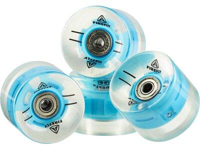 FIREFLY Skateboard LED-Skateboard-Rollen 60× 45 mm Weiß