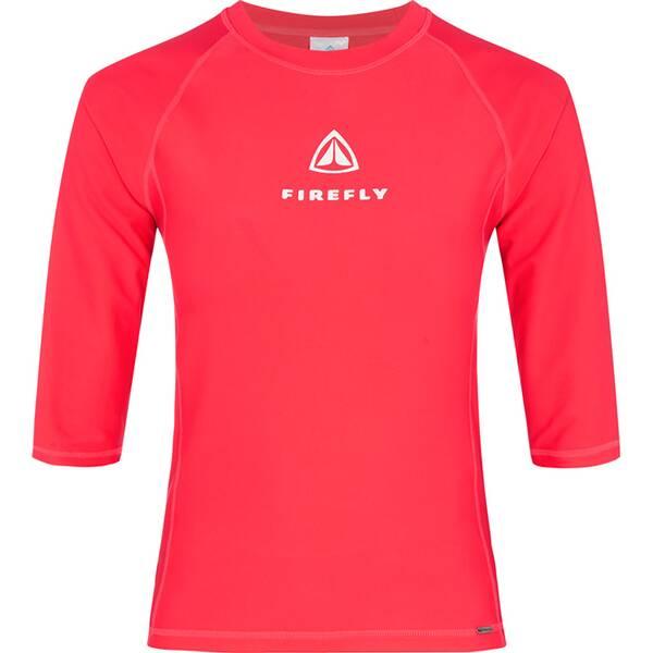 Bademode - FIREFLY Damen Shirt Lunelia II › Rot  - Onlineshop Intersport