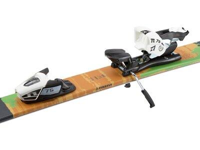 FIREFLY Kinder Free Ski Ski-Set Rocket jr. + Bdg. NTC45/NTL75 Blau