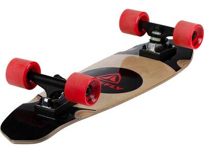 FIREFLY Skateboard Cruiser Circle Schwarz
