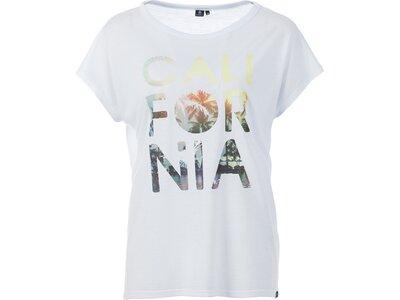 FIREFLY Damen T-Shirt Onna Weiß