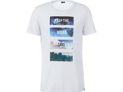 FIREFLY Herren T-Shirt Olin Weiß