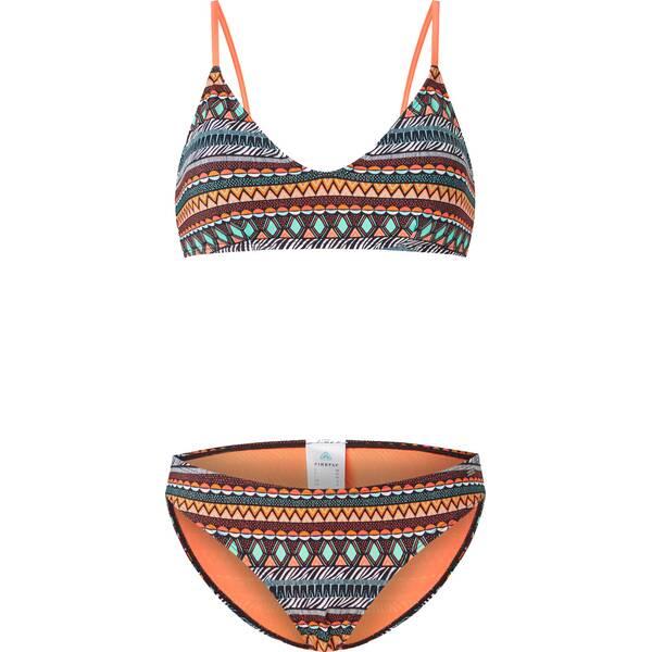 Bademode - FIREFLY Damen Bikini STRP1 Sadira › Orange  - Onlineshop Intersport