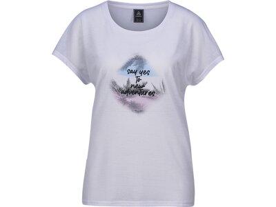FIREFLY Damen Shirt Onna Weiß